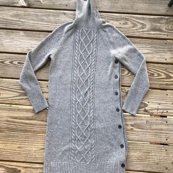 cbdc965c9b4 NWT J.Crew Cable knit Turtleneck sweater dress